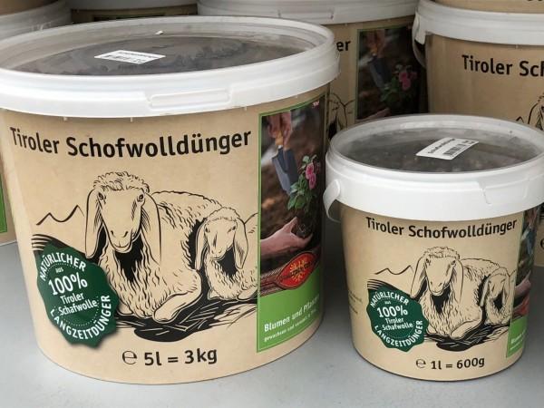 Tiroler Schofwolldünger