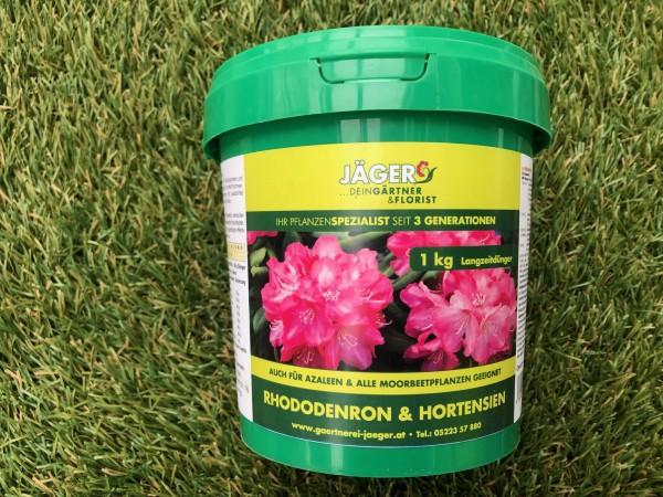 Jäger´s Rhododendron & Hortensiendünger