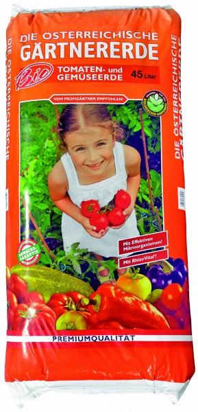 Bio Tomaten- und Gemüseerde