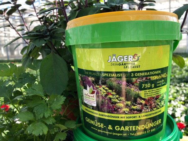 Jäger´s Gemüse- und Gartendünger, biologisch